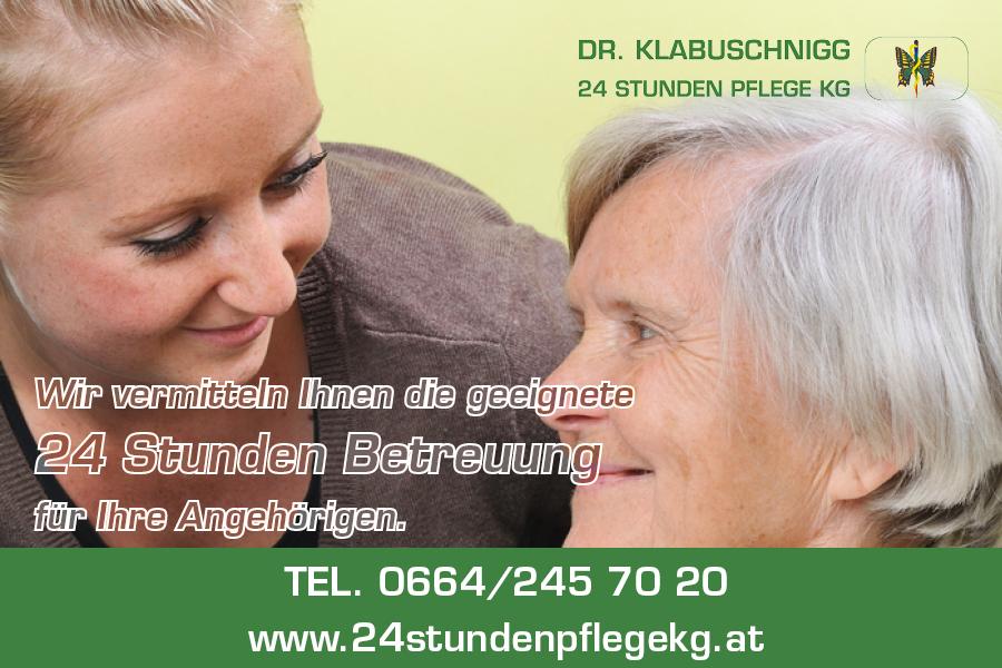Dr. Klabuschnigg 24 Stunden Pflege KG