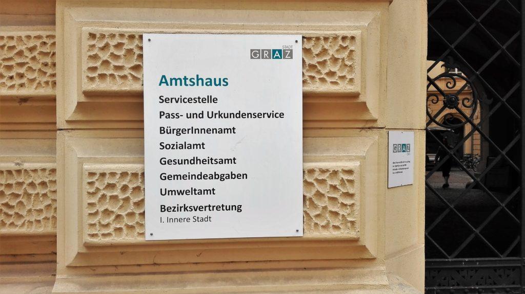 Amtsgebäude Graz 1