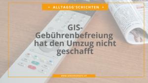 GIS-Gebührenbefreiung